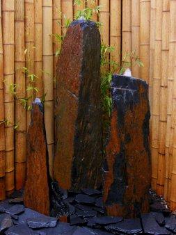 Triolithen Säulen