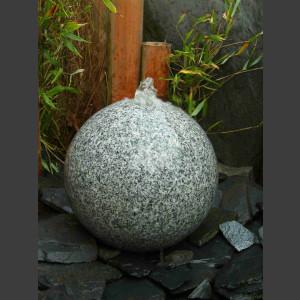 Kugelbrunnen grauer Granit poliert 30cm 1