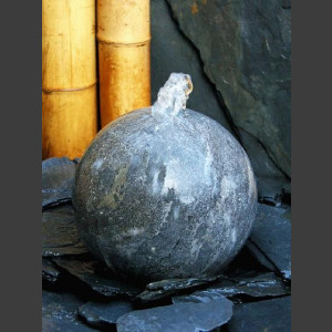 Kugelbrunnen geschliffener Blaustein 20cm