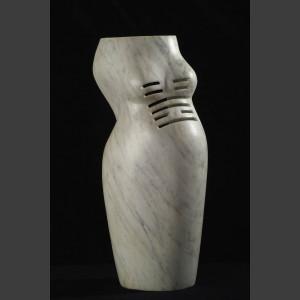 """""""Fong-die Fülle"""" Skulptur  aus Estremoz Marmor, Steff Bauer"""