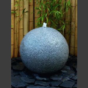 Kugelbrunnen grauer Granit 60cm 1