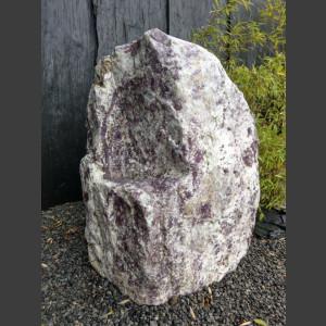 Jaspis Naturstein Monolith poliert 93cm