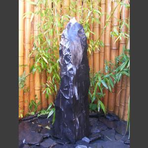 Marmor Monolith schwarz 100cm1