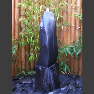 Marmor Monolith schwarz poliert 100cm1