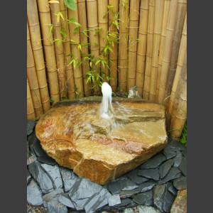 Sandstein Schaumsprudler Brunnen