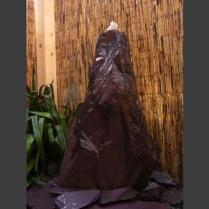 Schiefer Monolith 75cm lila