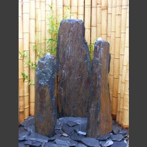 Triolithen Komplettset graubrauner Schiefer 120cm1