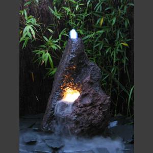 Lava Vulkan Brunnen 110cm 1