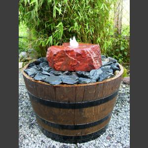 Weinfaß Sandstein Quellstein 1
