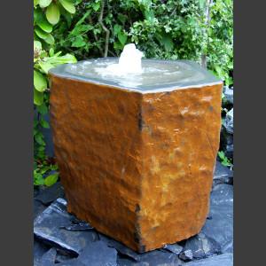 Basaltbrunnen ausgehöhlt 50cm 1