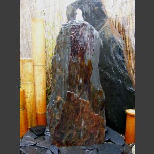 Schiefer Monolith 95cm graubraun1