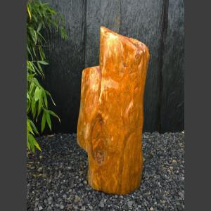 versteinertes Holz mit polierter Oberfläche 61kg