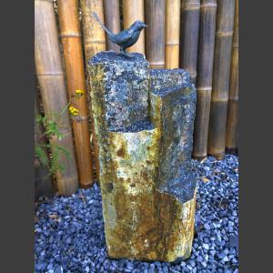Obsidian Basalt Stele