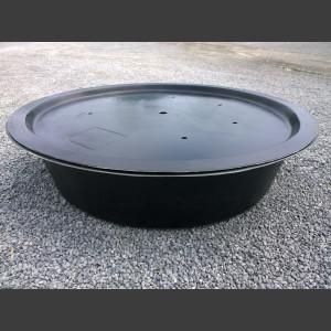 GFK-Becken rund mit GFK-Abdeckung 150cm