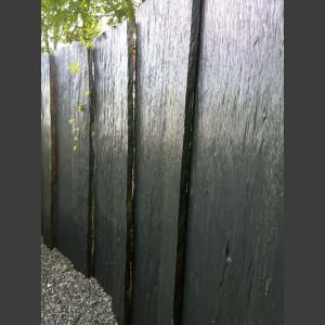 Schiefer Taco Palisade schwarz 200cm