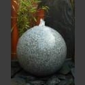 Kugelbrunnen grauer Granit poliert 40cm