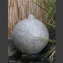 Granit Kugelbrunnen grau 20cm