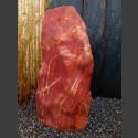 Jaspis Naturstein Monolith geschliffen 98cm