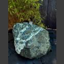 Quellstein Felsen Serpentin grün ca.65kg