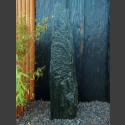 Serpentinit Naturstein Monolith 139cm hoch