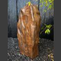 Tigerauge Naturstein Monolith geschliffen 82cm
