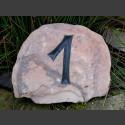 Sandstein Hausnummer