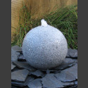 Kugelbrunnen grauer Granit 40cm