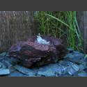 Quellstein ausgehöhlte Lava 45cm