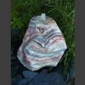 Onyxbrunnen ausgehöhlt und poliert 70cm
