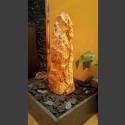 Zimmerbrunnen Onyx Monolith in 4eckigem Granitbecken