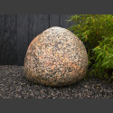 Nordischer Granit Findling 60cm hoch