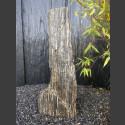 Zebra Gneis Naturstein Monolith 92cm hoch