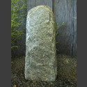 Alpengrau Naturstein Stele 93cm