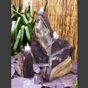 Triolithen Quellsteine lila Schiefer 50cm