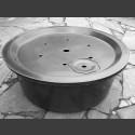 GFK-Becken rund mit GFK-Abdeckung 90cm