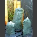3er Brunnenset grüner Dolomit 50cm