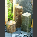 Basaltsäulen 3er Brunnenset 50cm
