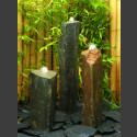 3er Gruppe Basaltsäulen Quellsteine 75cm
