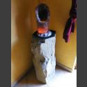 "Basaltbrunnen mit Amethystdruse ""Luz Amethysta"""