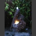 Lava Vulkan Gartenbrunnen 110cm