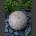 Kugelbrunnen roter Granit 40cm