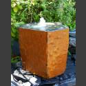Quellstein ausgehöhlte Basaltsäule 50cm