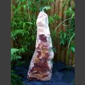 Quellstein Säule Onyx 80cm