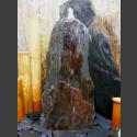 Komplettset Brunnen graubrauner Schiefer 75cm