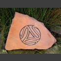 Sandstein Triskele