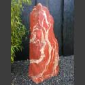 Jaspis Naturstein Monolith geschliffen 92cm