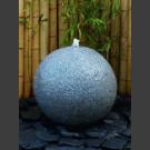 Granit Kugel Sprudelstein grau 60cm