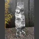 Alaska Marmor Monolith schwarz-weiß 97cm