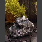 Bachlaufkaskaden Quellstein Set geschliffener Marmor grau-weiß
