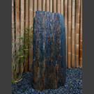 Monolith grau-brauner Schiefer 106cm hoch